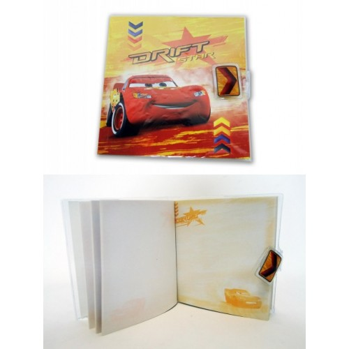 Zápisník - Cars