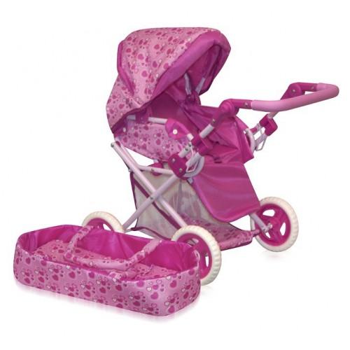Športový kočík pre bábiku aj s baby portom