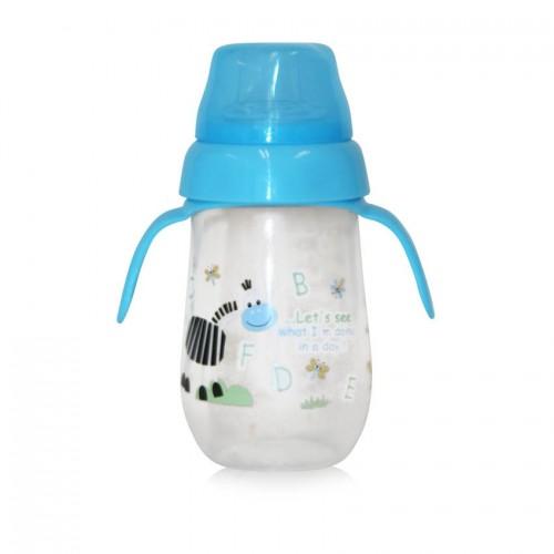 Nerozlejná dojčenská fľaška 260 ml.