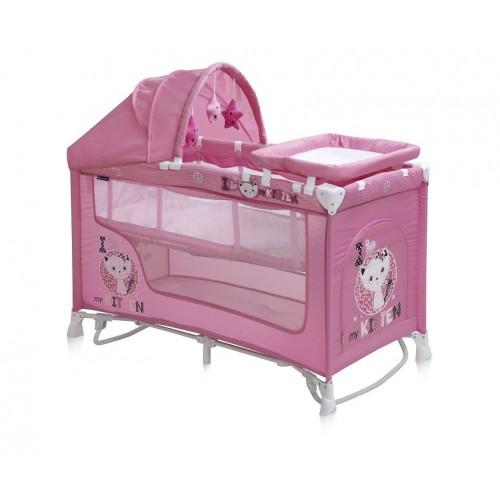 BABY NANNY 2 Layers Plus Rocker PINK KITTEN 10080161612